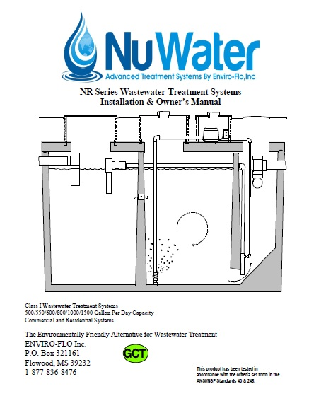 bnr_cover manuals NuWater Nr 500 at reclaimingppi.co
